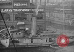 Image of Woodrow Wilson traveling to Paris Peace Conference Hoboken New Jersey USA, 1918, second 30 stock footage video 65675042490