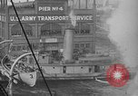 Image of Woodrow Wilson traveling to Paris Peace Conference Hoboken New Jersey USA, 1918, second 32 stock footage video 65675042490