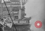 Image of Woodrow Wilson traveling to Paris Peace Conference Hoboken New Jersey USA, 1918, second 33 stock footage video 65675042490