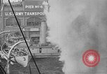 Image of Woodrow Wilson traveling to Paris Peace Conference Hoboken New Jersey USA, 1918, second 34 stock footage video 65675042490