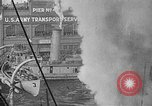 Image of Woodrow Wilson traveling to Paris Peace Conference Hoboken New Jersey USA, 1918, second 35 stock footage video 65675042490