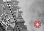 Image of Woodrow Wilson traveling to Paris Peace Conference Hoboken New Jersey USA, 1918, second 36 stock footage video 65675042490