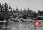 Image of Puget Sound coastline in early 1900s Tacoma Washington USA, 1917, second 3 stock footage video 65675042499