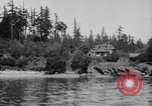 Image of Puget Sound coastline in early 1900s Tacoma Washington USA, 1917, second 7 stock footage video 65675042499