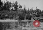 Image of Puget Sound coastline in early 1900s Tacoma Washington USA, 1917, second 8 stock footage video 65675042499