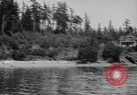Image of Puget Sound coastline in early 1900s Tacoma Washington USA, 1917, second 9 stock footage video 65675042499