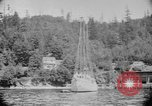 Image of Puget Sound coastline in early 1900s Tacoma Washington USA, 1917, second 10 stock footage video 65675042499