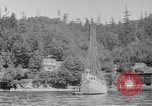 Image of Puget Sound coastline in early 1900s Tacoma Washington USA, 1917, second 11 stock footage video 65675042499