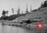 Image of Puget Sound coastline in early 1900s Tacoma Washington USA, 1917, second 17 stock footage video 65675042499