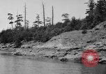 Image of Puget Sound coastline in early 1900s Tacoma Washington USA, 1917, second 21 stock footage video 65675042499
