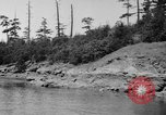 Image of Puget Sound coastline in early 1900s Tacoma Washington USA, 1917, second 23 stock footage video 65675042499