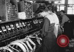 Image of lace making textile factory looms at work United States USA, 1917, second 7 stock footage video 65675042502