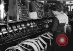 Image of lace making textile factory looms at work United States USA, 1917, second 13 stock footage video 65675042502