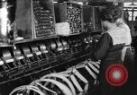 Image of lace making textile factory looms at work United States USA, 1917, second 14 stock footage video 65675042502