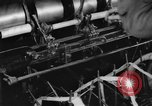 Image of lace making textile factory looms at work United States USA, 1917, second 22 stock footage video 65675042502