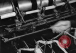 Image of lace making textile factory looms at work United States USA, 1917, second 26 stock footage video 65675042502