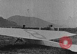Image of gliders Clermont Ferrand France, 1922, second 9 stock footage video 65675042525