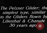 Image of gliders Germany, 1922, second 54 stock footage video 65675042526