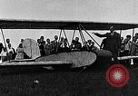 Image of Bavarian Club biplane Germany, 1922, second 9 stock footage video 65675042527