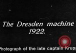 Image of Bavarian Club biplane Germany, 1922, second 28 stock footage video 65675042527