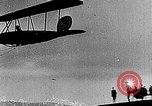 Image of Bavarian Club biplane Germany, 1922, second 29 stock footage video 65675042527