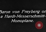 Image of Baron Von Freyberg Germany, 1922, second 5 stock footage video 65675042530