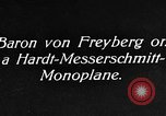 Image of Baron Von Freyberg Germany, 1922, second 6 stock footage video 65675042530
