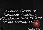 Image of monoplane glider Germany, 1922, second 1 stock footage video 65675042532
