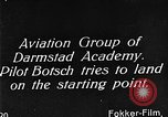 Image of monoplane glider Germany, 1922, second 2 stock footage video 65675042532