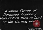 Image of monoplane glider Germany, 1922, second 4 stock footage video 65675042532