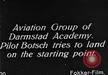 Image of monoplane glider Germany, 1922, second 6 stock footage video 65675042532