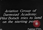 Image of monoplane glider Germany, 1922, second 7 stock footage video 65675042532