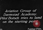 Image of monoplane glider Germany, 1922, second 9 stock footage video 65675042532