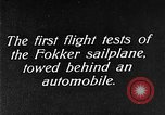 Image of Fokker sailplane Germany, 1922, second 6 stock footage video 65675042533