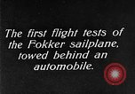 Image of Fokker sailplane Germany, 1922, second 7 stock footage video 65675042533