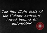 Image of Fokker sailplane Germany, 1922, second 8 stock footage video 65675042533