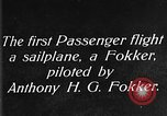 Image of Fokker biplane Germany, 1922, second 4 stock footage video 65675042534