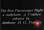 Image of Fokker biplane Germany, 1922, second 6 stock footage video 65675042534