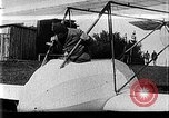Image of Fokker biplane Germany, 1922, second 8 stock footage video 65675042534