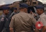Image of United States HH-43 B helicopter Takhli Thailand, 1966, second 13 stock footage video 65675042566