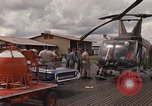 Image of United States HH-43 B helicopter Takhli Thailand, 1966, second 30 stock footage video 65675042566