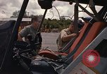 Image of United States HH-43 B helicopter Takhli Thailand, 1966, second 35 stock footage video 65675042566