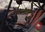 Image of United States HH-43 B helicopter Takhli Thailand, 1966, second 36 stock footage video 65675042566