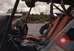 Image of United States HH-43 B helicopter Takhli Thailand, 1966, second 37 stock footage video 65675042566