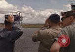Image of United States HH-43 B helicopter Takhli Thailand, 1966, second 59 stock footage video 65675042566