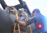 Image of United States F-105 D aircraft Takhli Thailand, 1970, second 60 stock footage video 65675042570