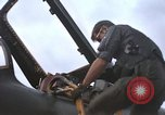 Image of United States F-105 D aircraft Takhli Thailand, 1970, second 62 stock footage video 65675042570