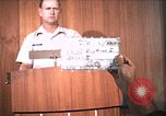 Image of United States Air Force officer Takhli Thailand, 1970, second 1 stock footage video 65675042573