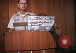 Image of United States Air Force officer Takhli Thailand, 1970, second 2 stock footage video 65675042573