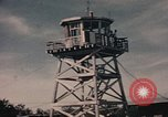 Image of fire trucks Takhli Thailand, 1964, second 5 stock footage video 65675042582